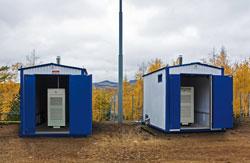 Газотурбинные электростанции Capstone на линейной части газопровода-отвода Оха (Сахалин) - Комсомольск-на-Амуре