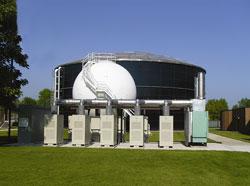 Биогазовая автономная электростанция на основе микротурбин