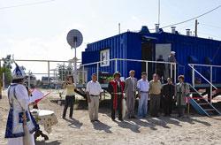 Открытие мини-ТЭЦ в поселке Тыайа (Якутия)