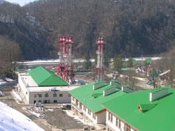 Экологически чистый энергокомплекс на базе ГТУ OPRA в Красной поляне