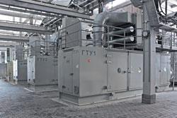 ГТУ OPRA в энергоцентре в Красной поляне