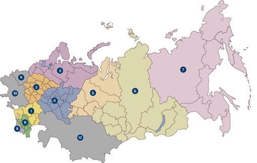 География проектов Capstone в России